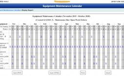 002 Unforgettable Preventive Maintenance Template Excel Download Inspiration  Computer