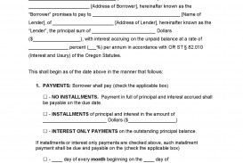 002 Unforgettable Promissory Note Template Word Example  Form Document Free Sample