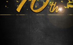 002 Unique 70th Birthday Invitation Template Free Image  Surprise Invite With Photo