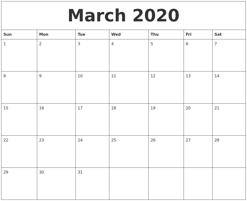 002 Unique Calendar 2020 Template Word High Definition  Monthly Doc Free DownloadFull