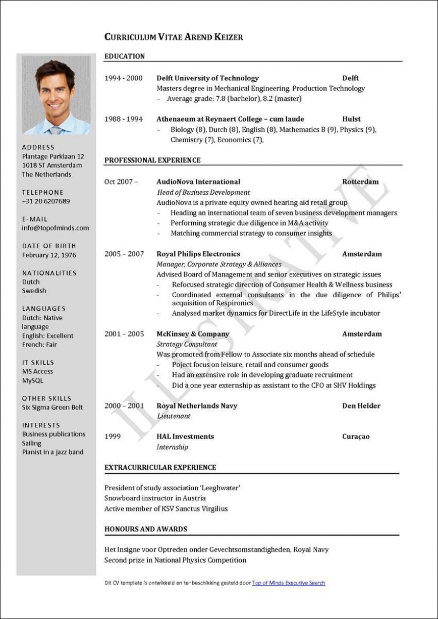 002 Unique Curriculum Vitae Template Free Photo  Download South Africa Psd
