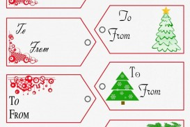 002 Unique Free Printable Christma Tent Card Template Design