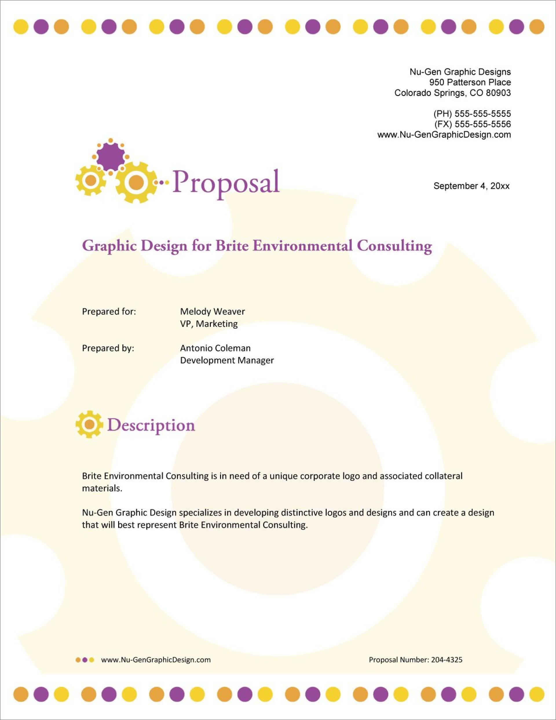 002 Unique Graphic Design Proposal Template Free High Def  Freelance Pdf Indesign1920