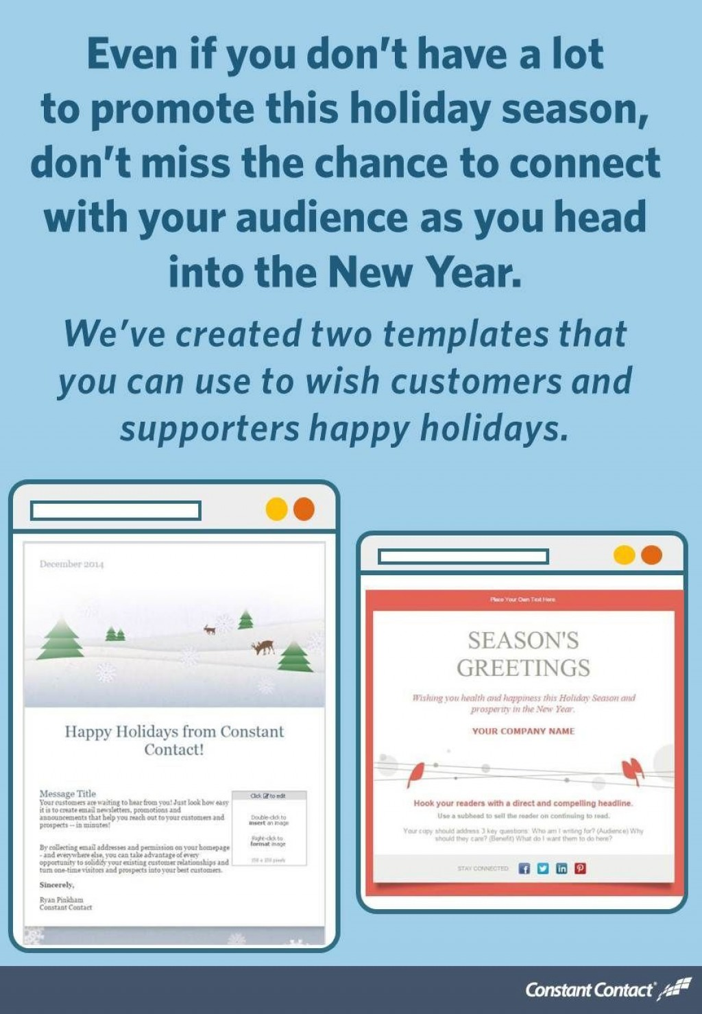 002 Unique Holiday E Mail Template Photo  Templates Mailchimp EmailLarge