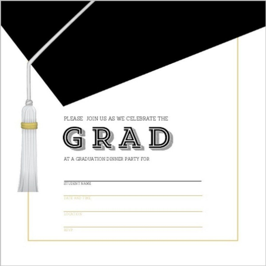 002 Unique Microsoft Word Graduation Invitation Template High Definition  PartyLarge