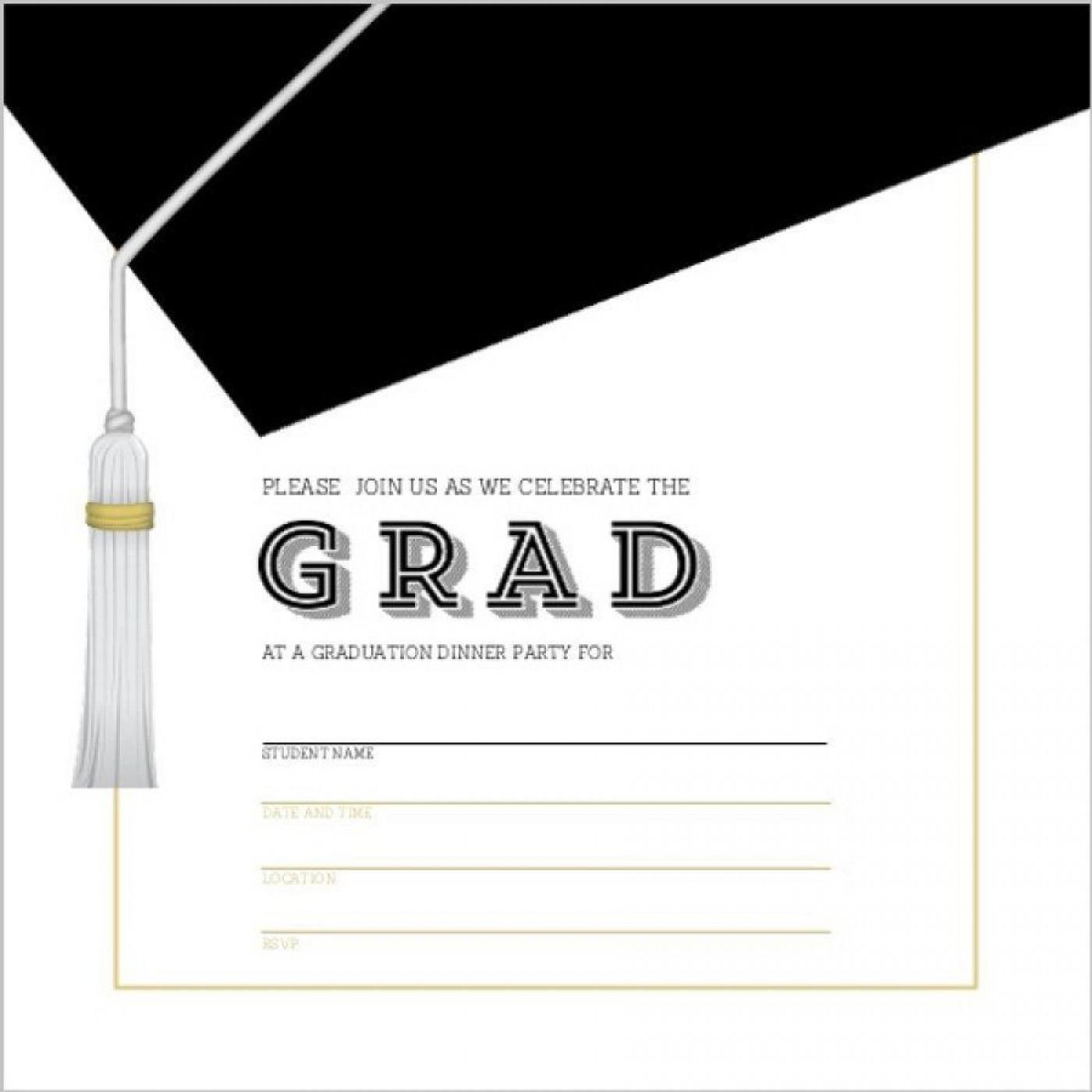 002 Unique Microsoft Word Graduation Invitation Template High Definition  Party1400