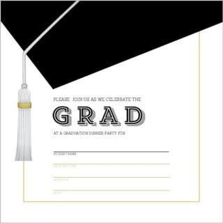 002 Unique Microsoft Word Graduation Invitation Template High Definition  Party320