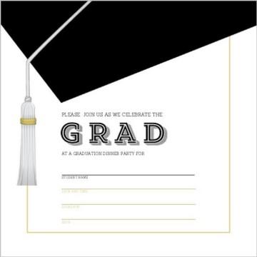 002 Unique Microsoft Word Graduation Invitation Template High Definition  Party360
