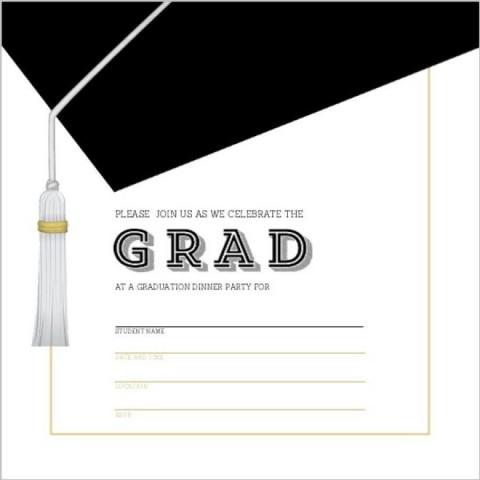 002 Unique Microsoft Word Graduation Invitation Template High Definition  Party480