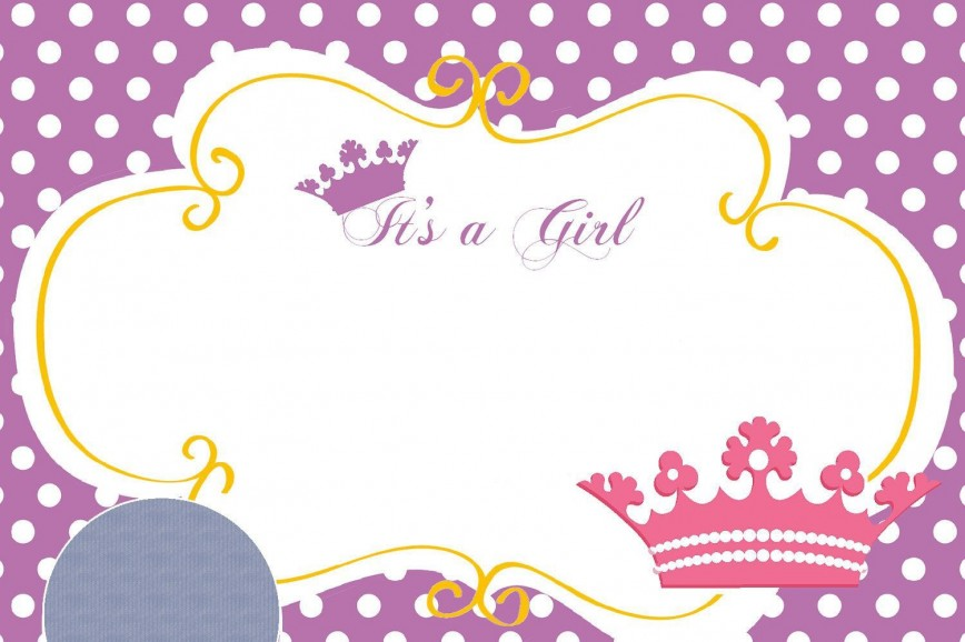 002 Unique Princes Baby Shower Invitation Template Sample  Templates Little Royal Free Printable