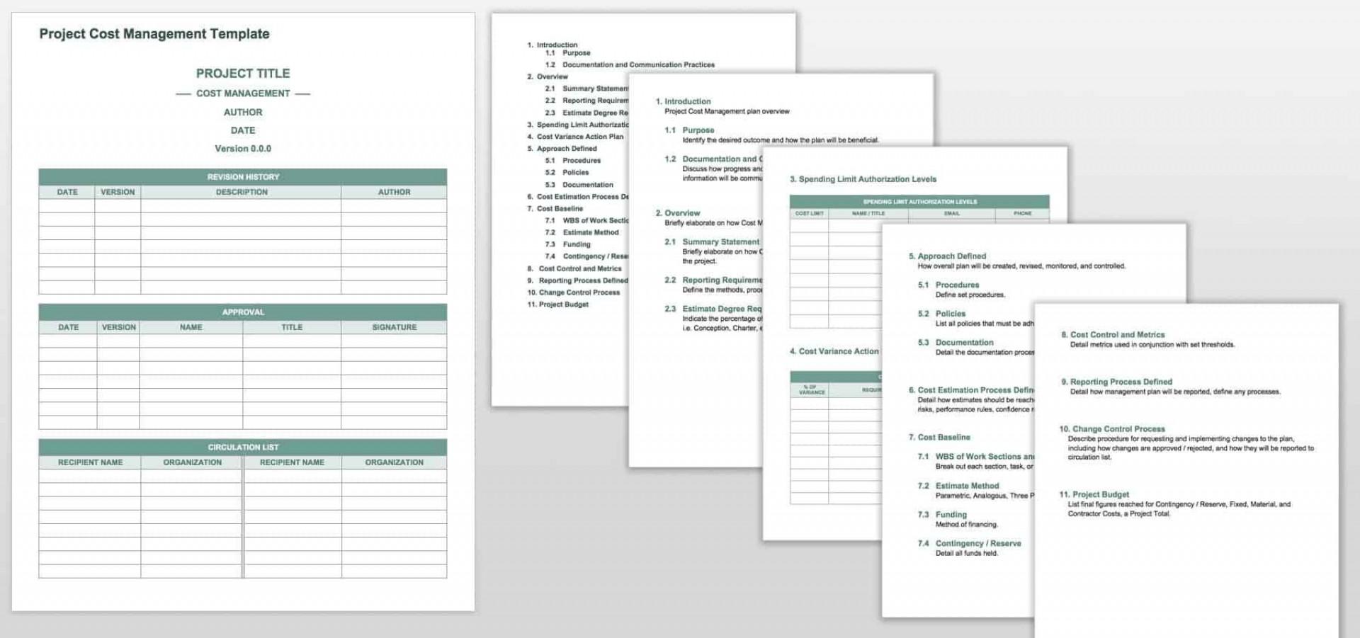 002 Unique Project Management Plan Template Word Free Image  Simple1920