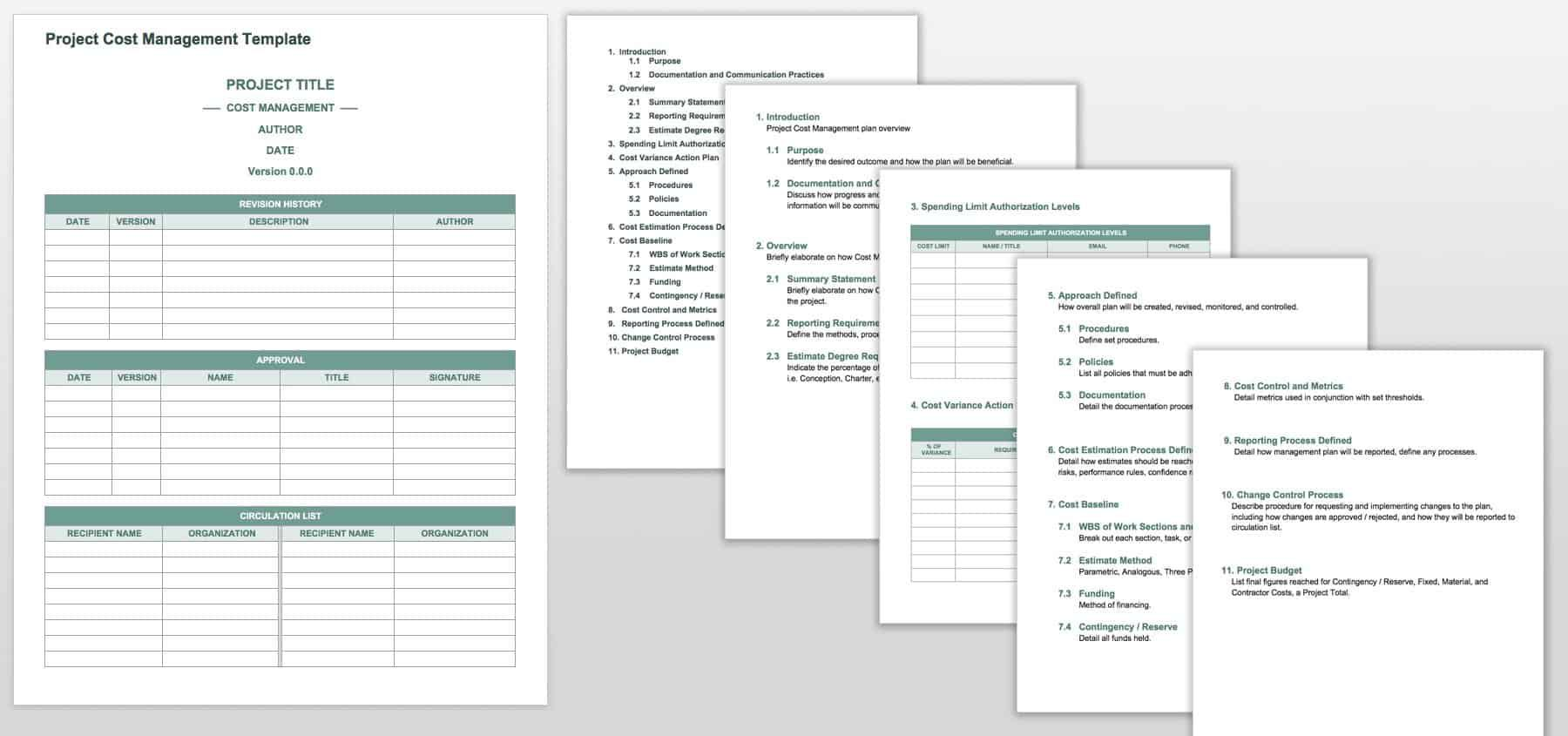 002 Unique Project Management Plan Template Word Free Image  SimpleFull