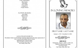 002 Unique Sample Wording For Funeral Program Design  Programs