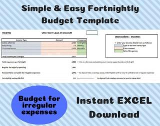 002 Unique Simple Line Item Budget Template High Def 320