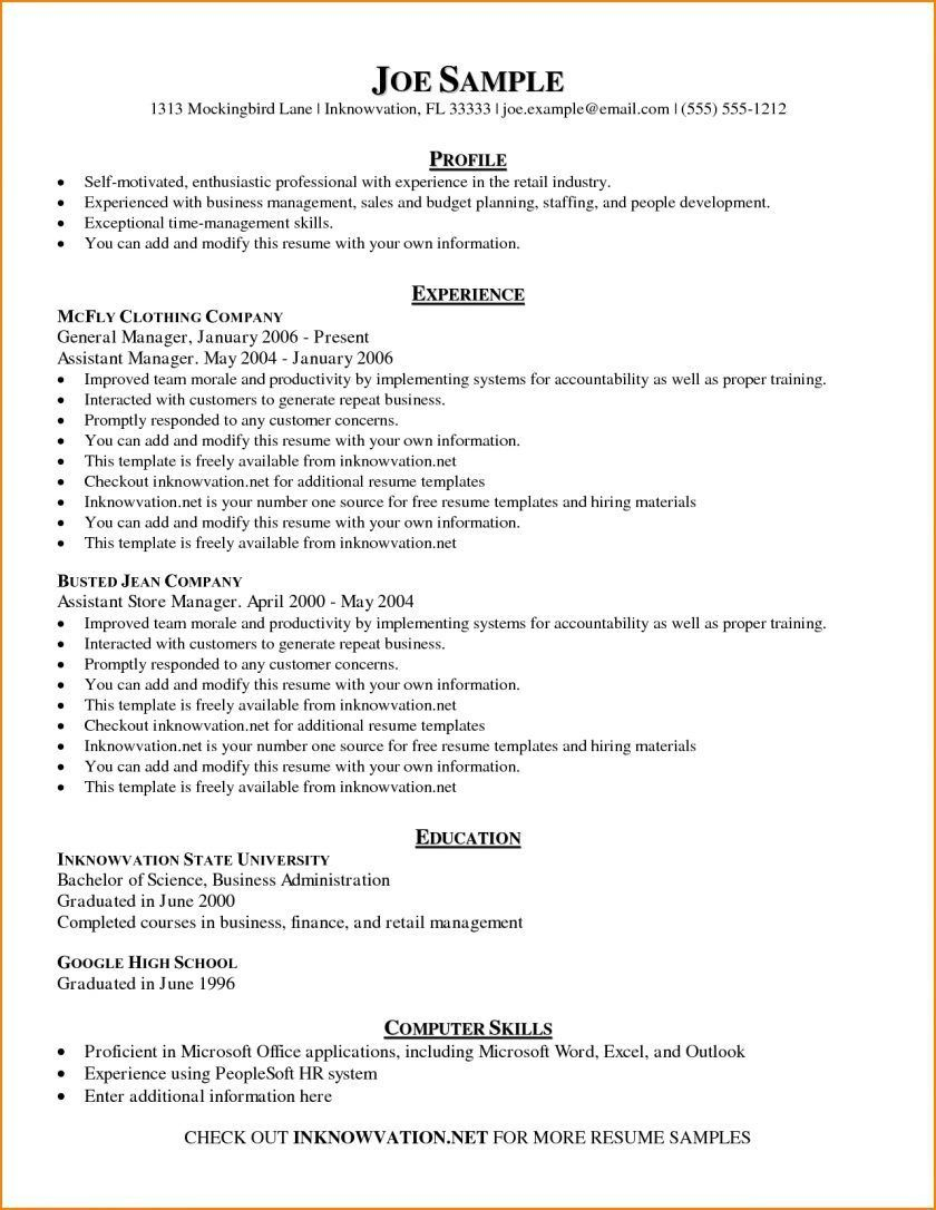 002 Unique Skill Based Resume Template Microsoft Word High Resolution Full