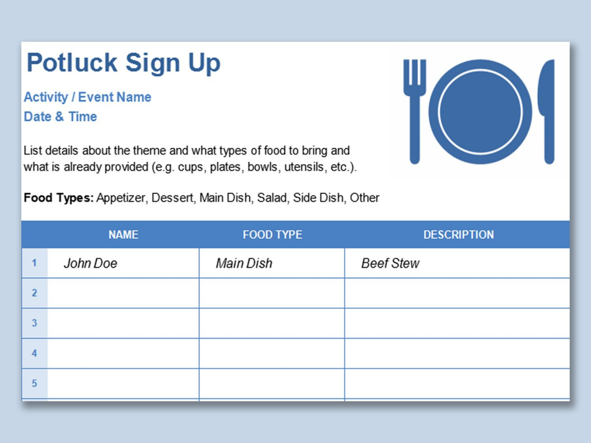 002 Unique Template For Sign Up Sheet High Resolution  Visitor In Excel Download On1920