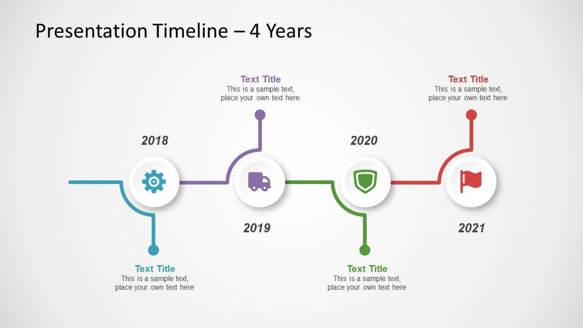 002 Unique Timeline Template For Ppt Free Concept  Infographic Vertical Download1920