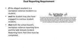 002 Unique Workplace Violence Incident Report Form Ontario Image