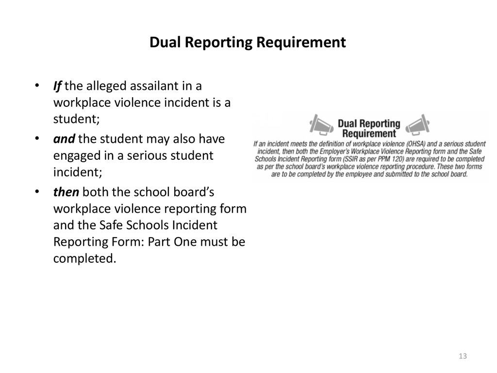 002 Unique Workplace Violence Incident Report Form Ontario Image Full