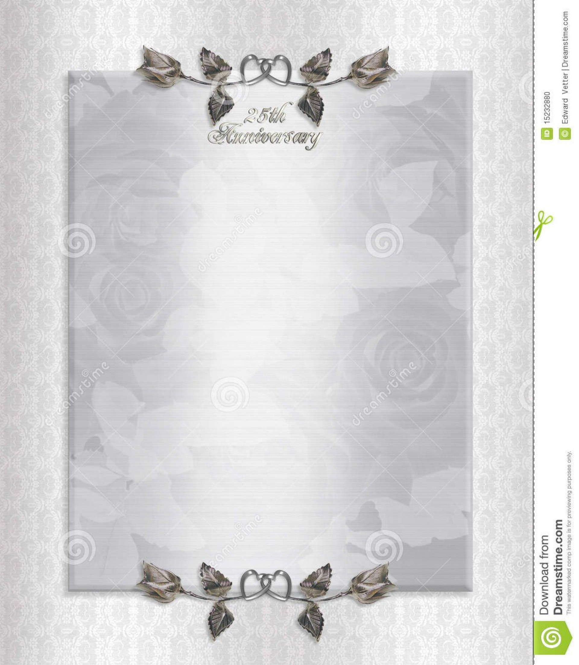002 Unusual 50th Anniversary Invitation Template Free Highest Clarity  For Word Golden Wedding Download1920