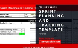002 Unusual Agile Project Management Template Excel Free Example