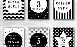 002 Unusual Baby Shower Card Printable Black And White High Resolution