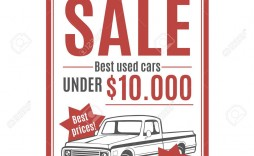 002 Unusual Car For Sale Template Design  Sign Word Bill Of Uk