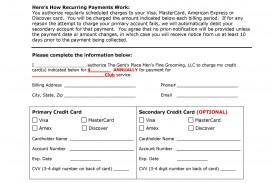 002 Unusual Credit Card Usage Request Form Template Concept
