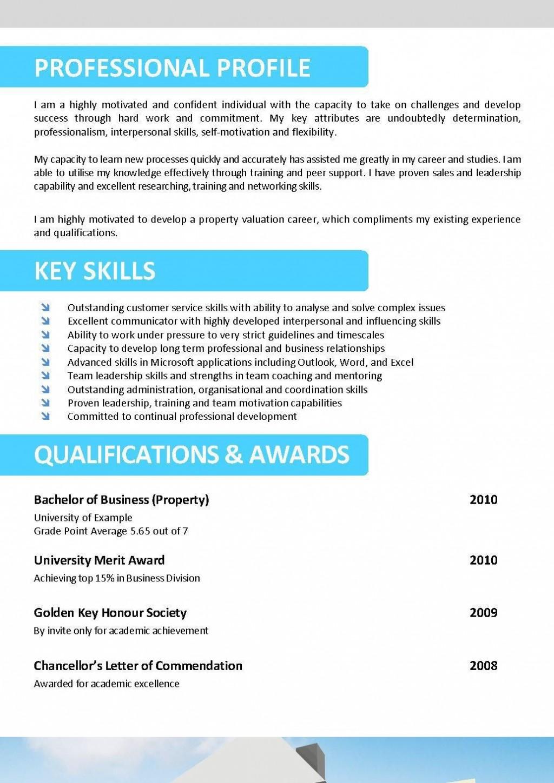 002 Unusual Free Printable Resume Template Australia High Definition Large
