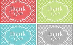 002 Unusual Free Printable Thank You Gift Tag Template High Definition  Templates