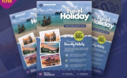 002 Unusual Free Travel Flyer Template Download Concept