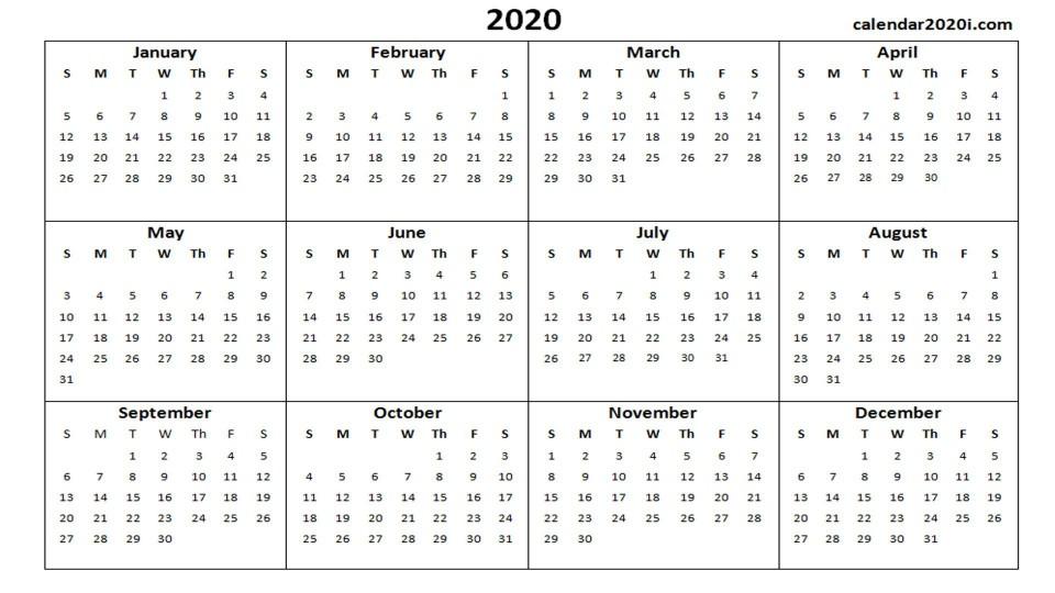 002 Unusual Microsoft Calendar Template 2020 Concept  Publisher Office Free960