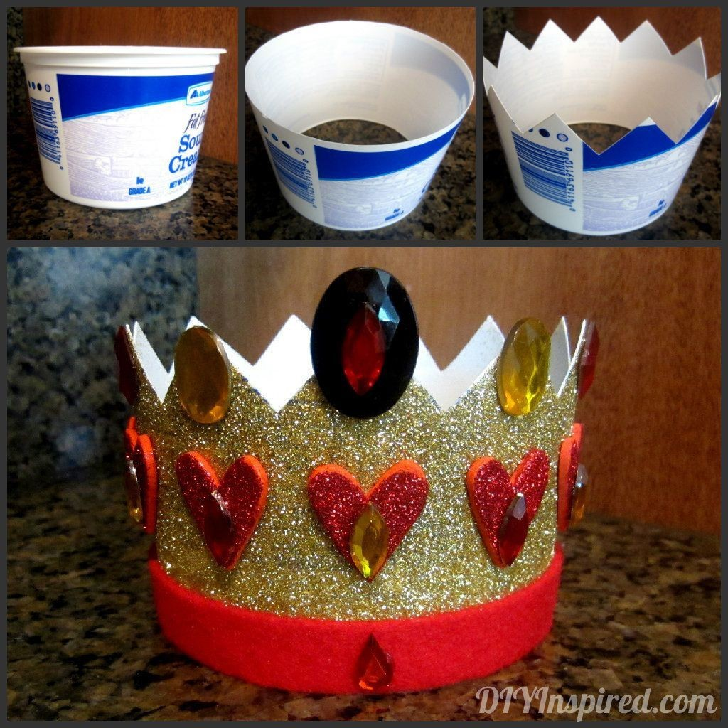 002 Unusual Queen Of Heart Crown Pattern Inspiration  Printable Template Headband DiyLarge