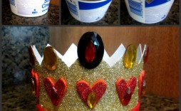 002 Unusual Queen Of Heart Crown Pattern Inspiration  Printable Template Headband Diy