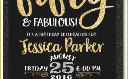 002 Unusual Surprise 50th Birthday Invitation Template Word Free High Def