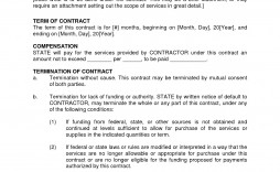 002 Wonderful Busines Service Contract Template Example  Small Agreement