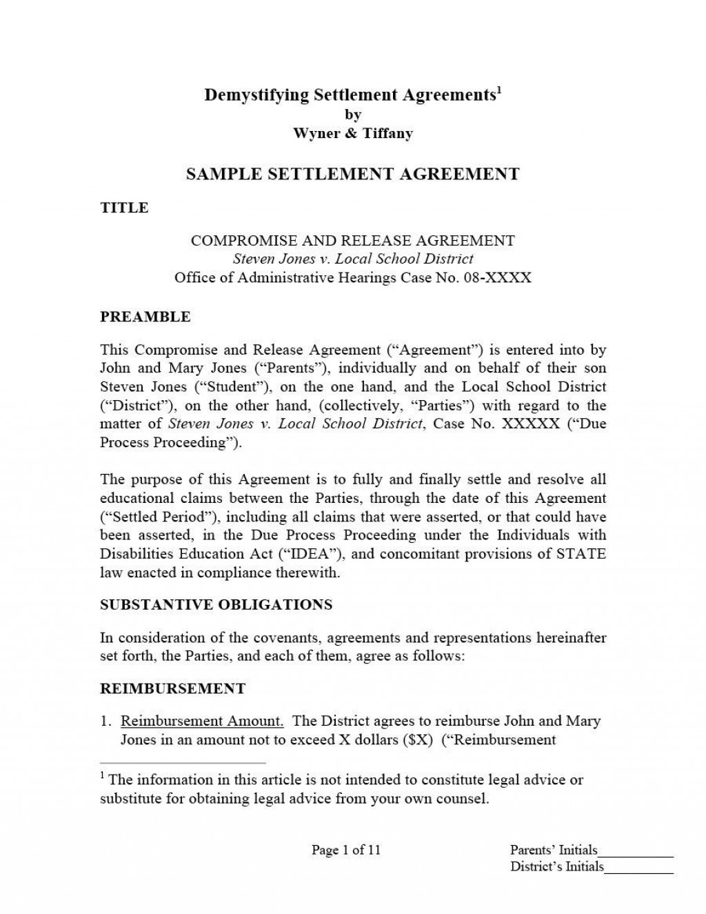 002 Wonderful Divorce Settlement Agreement Template Highest Clarity  Sample New York Marital Uk South AfricaLarge