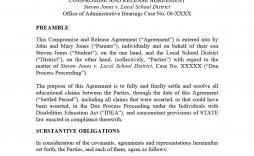 002 Wonderful Divorce Settlement Agreement Template Highest Clarity  Sample New York Marital Uk South Africa