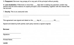 002 Wonderful Family Loan Agreement Template Canada Highest Clarity