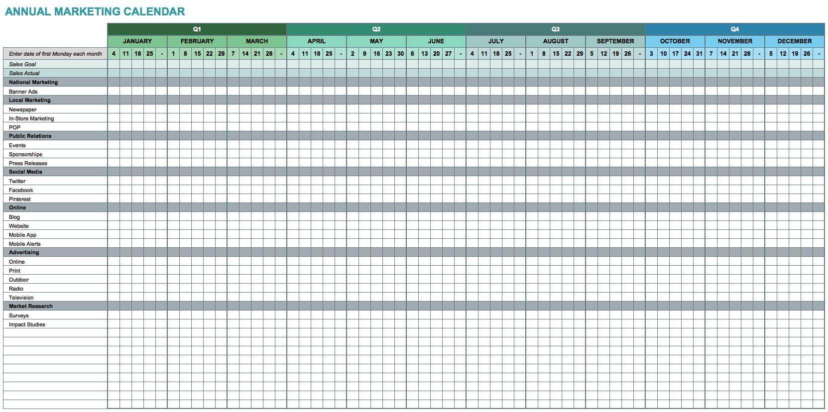002 Wonderful Free Excel Calendar Template Photo  2020 Monthly Download Biweekly Payroll 2018Full