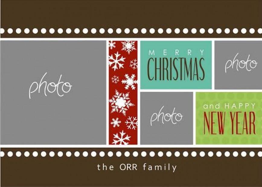 002 Wonderful Free Photo Christma Card Template Design  Templates Download For Word