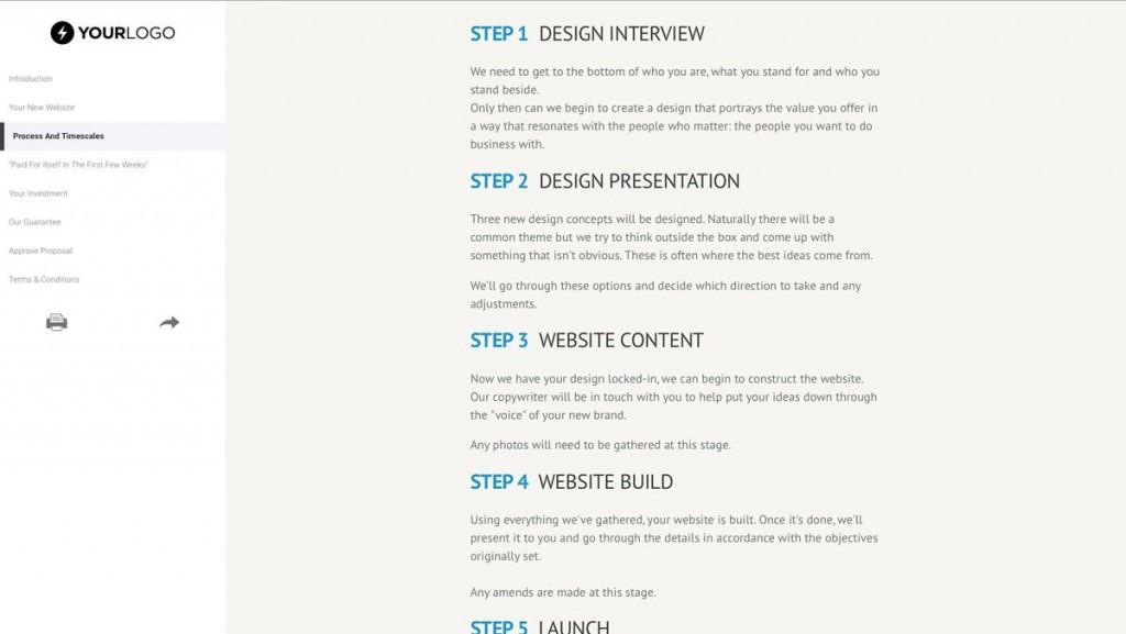 002 Wonderful Freelance Website Design Proposal Template High Definition Large