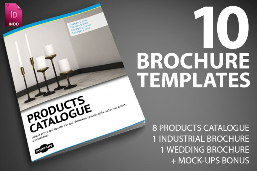002 Wonderful Indesign Brochure Template Free High Definition  Tri-fold Download