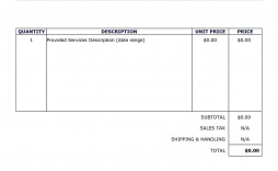 002 Wonderful Invoice Template In Word High Definition  Document Free Proforma