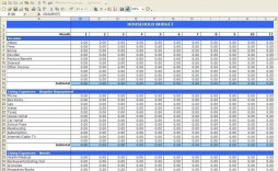 002 Wonderful Monthly Budget Sample Excel Highest Clarity  Template Simple India Personal Free