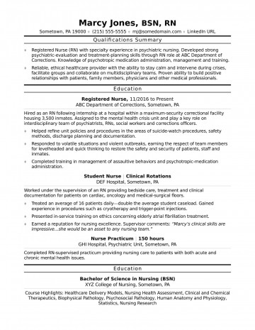 002 Wonderful New Rn Resume Template Picture 360