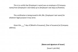 002 Wonderful Proof Of Employment Letter Template Canada Highest Clarity  Confirmation
