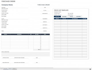 002 Wonderful Purchase Order Excel Template Design  Vba Download Free320