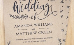 002 Wonderful Rustic Wedding Invitation Template High Def  Templates Free For Word Maker Photoshop