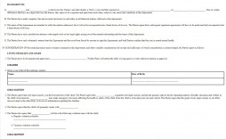 002 Wonderful Virginia Separation Agreement Template Sample  Marital Marriage